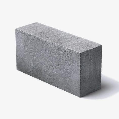 Пескоцементный Блок 390х120х188 Перегородочный Полнотелый