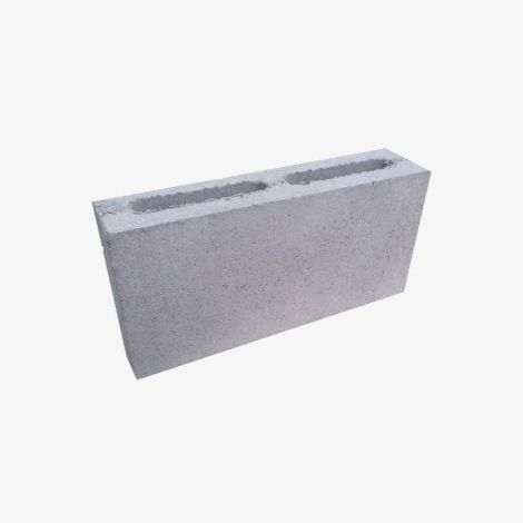 Пескоцементный Блок 390х120х188 Перегородочный 2-пустотный