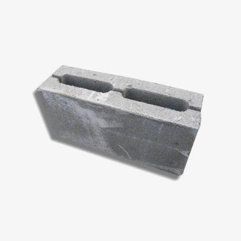 Пескоцементный Блок 390х160х188 Перегородочный 2-пустотный