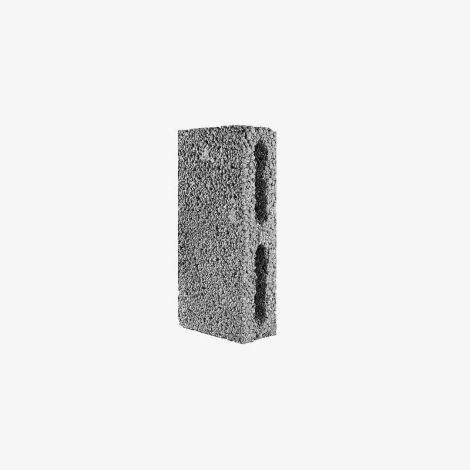 Блок Керамзитобетонный Стеновой Перегородочный 390х90х188 КПР