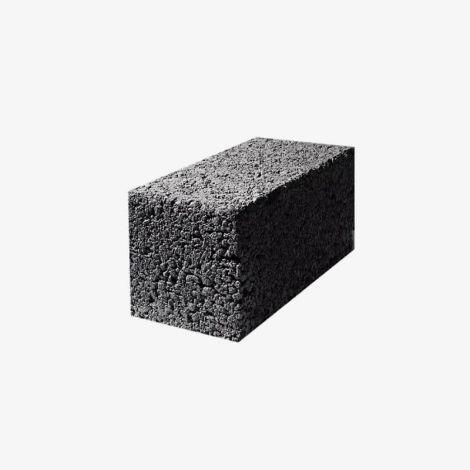 Блок Керамзитобетонный Стеновой Полнотелый 390х190х188 КСР-ПР