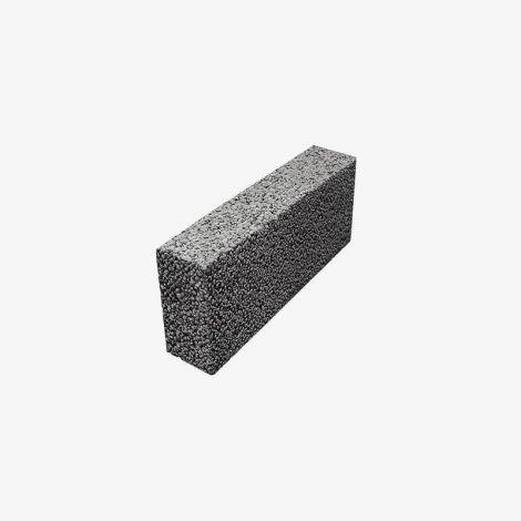 Блок Керамзитобетонный Перегородочный Полнотелый 390х90х188 КПР-ПР-ПС