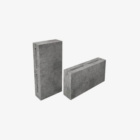 Блок Пескоцементный Перегородочный Пустотелый 390х80х188 КСР-ПР-ПС-39-125-F75-1550