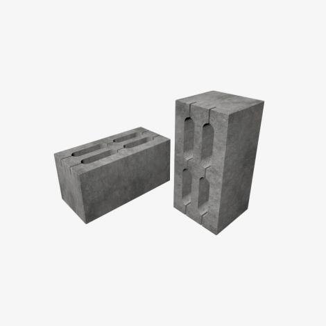 Блок Пескоцементный Стеновой Пустотелый 390х190х188 КСР-ПР-ПС-39-125-F75-1450