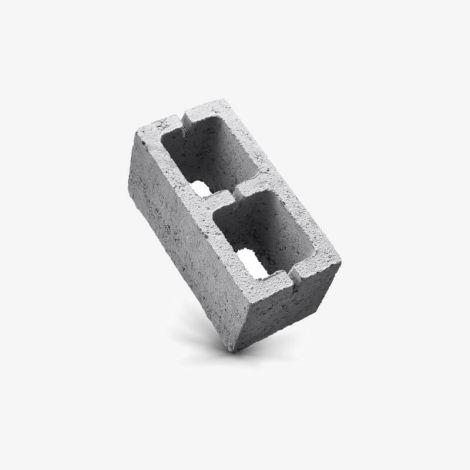 Керамзитобетонный Блок 390х190х188 вентиляционный