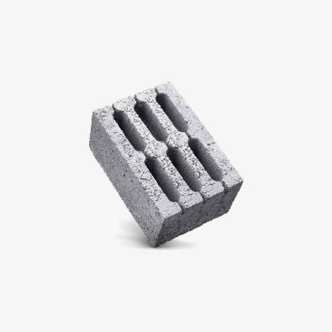 Блок Керамзитобетонный Стеновой  6-Пустотный 390х290х188 КСР-ПР-ПС