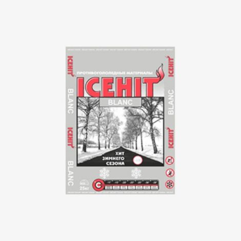 Противогололедный Реагент IceHit Blanc 25 кг