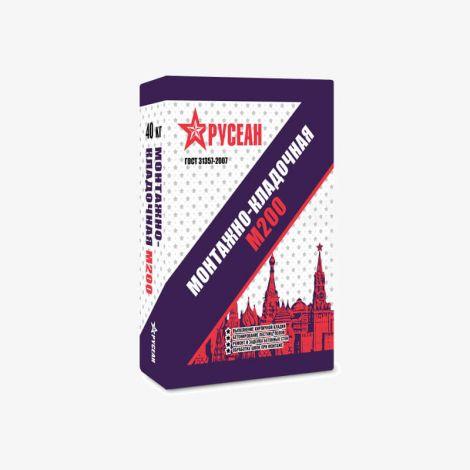 Сухая Смесь М200 Монтажно-Кладочная