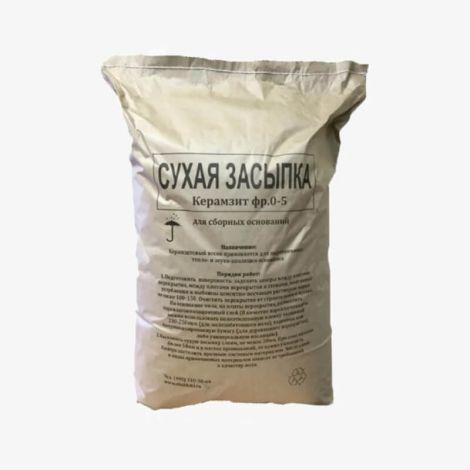Сухая Засыпка 0-5 мм в бумажных мешок 25 кг
